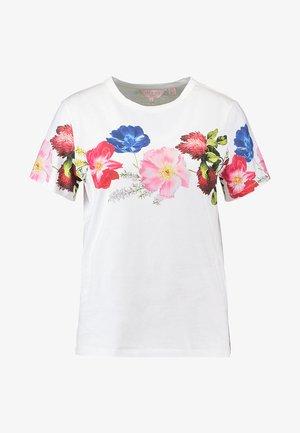UNIQA BERRY SUNDAE PRINTED TEE - Print T-shirt - white
