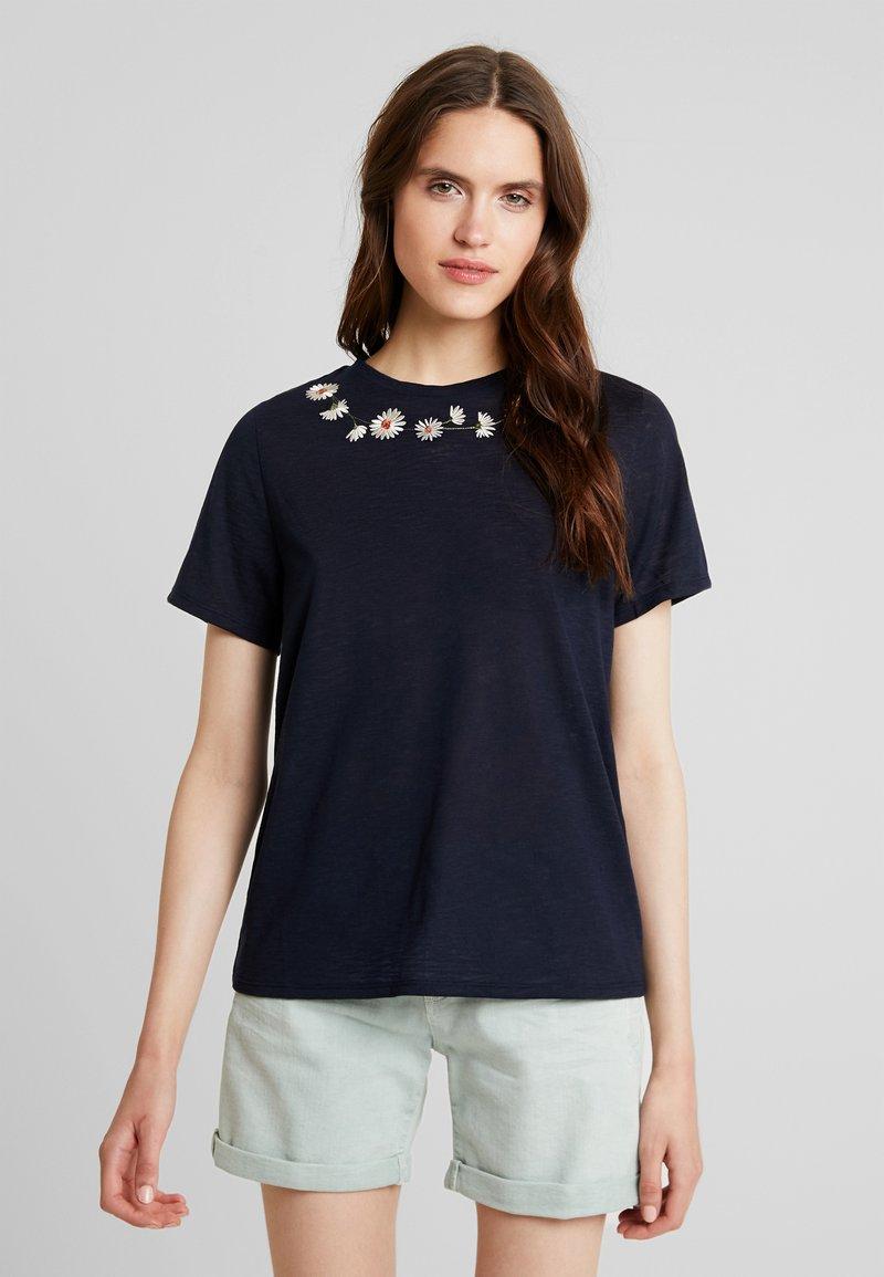 Ted Baker - JALAF - Print T-shirt - dark blue