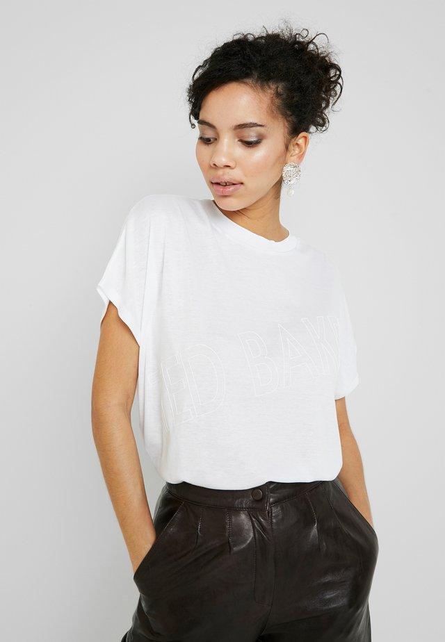 LAALI - T-shirt imprimé - white