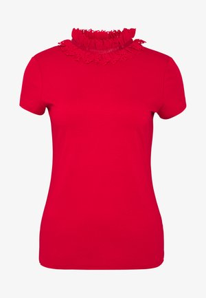 ORWLA - T-shirt con stampa - red