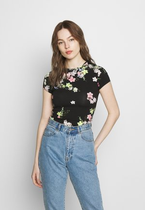 ALIEY - T-shirt print - black