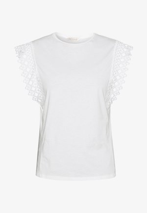 ULAYNA - T-shirts med print - ivory