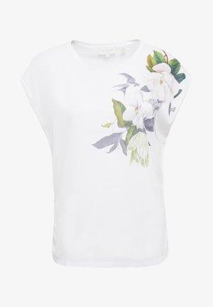 SELLIE - Print T-shirt - white