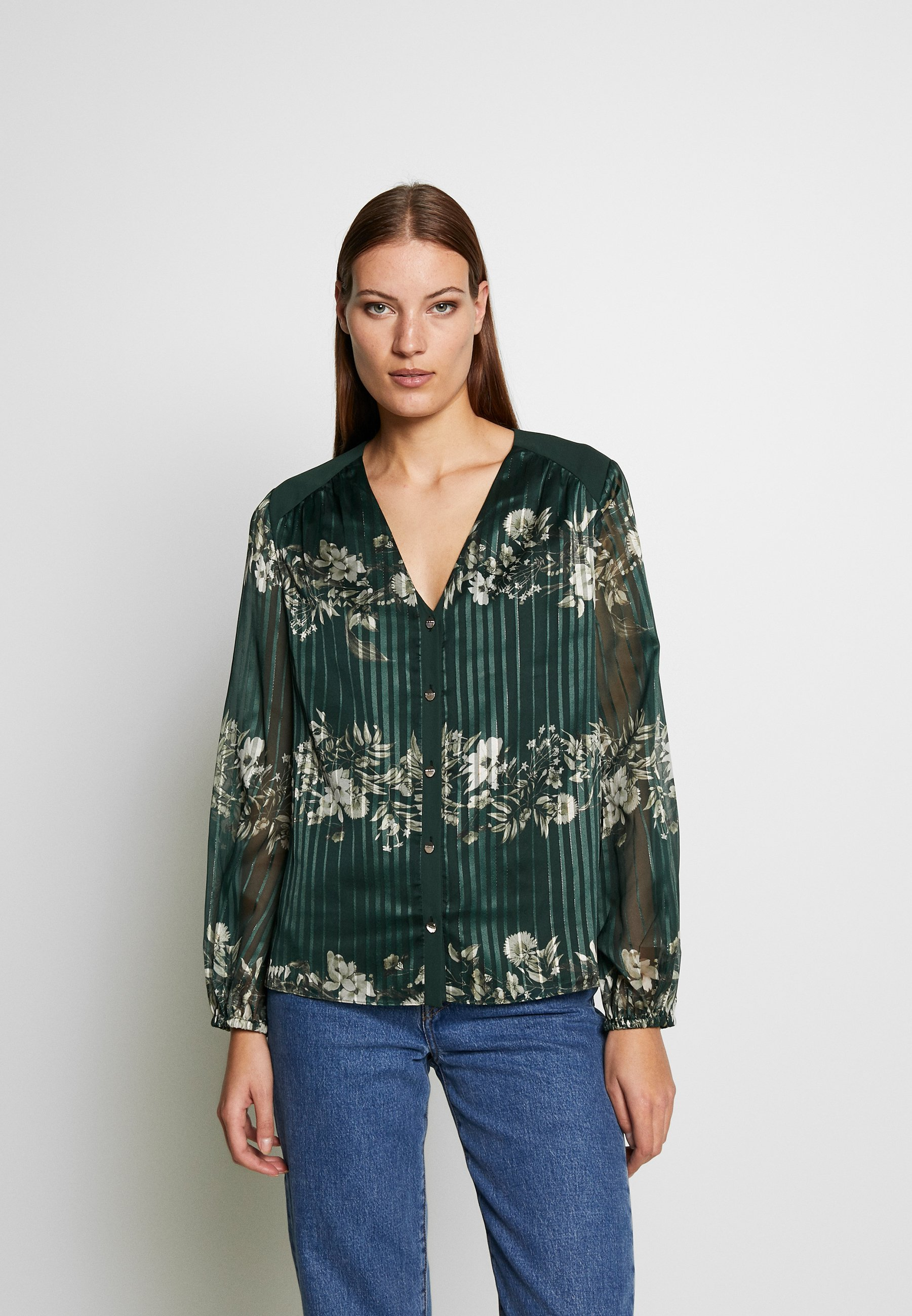Ted Baker EVELIIN - Bluzka - dark green