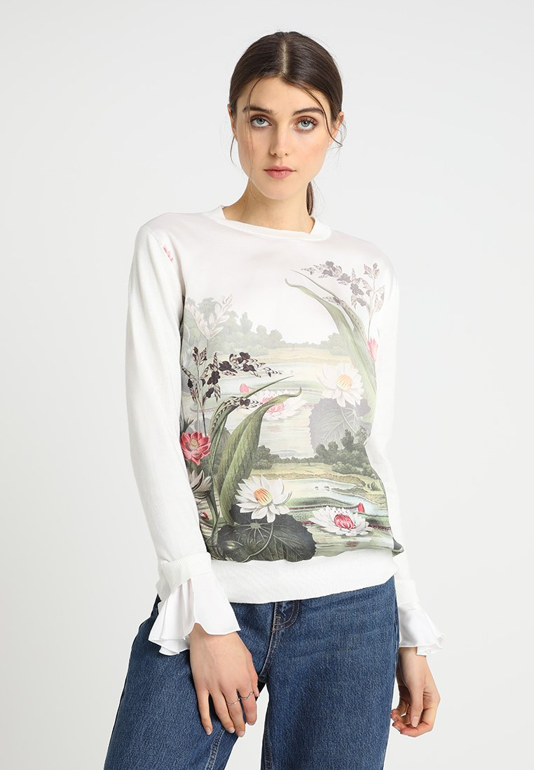 Ted Baker - LINZAY - Strickpullover - off-white