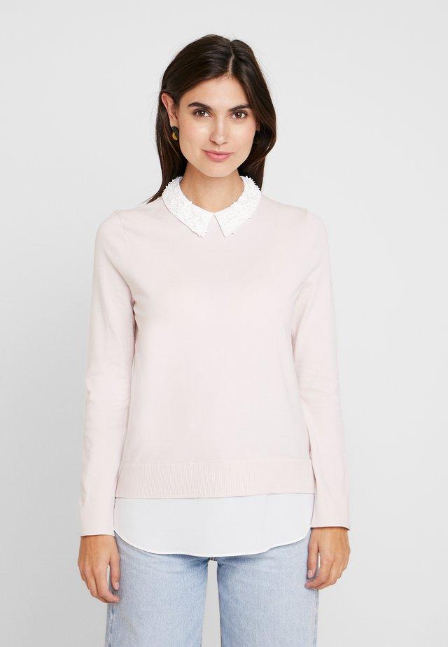 ZOILAA - Stickad tröja - pink
