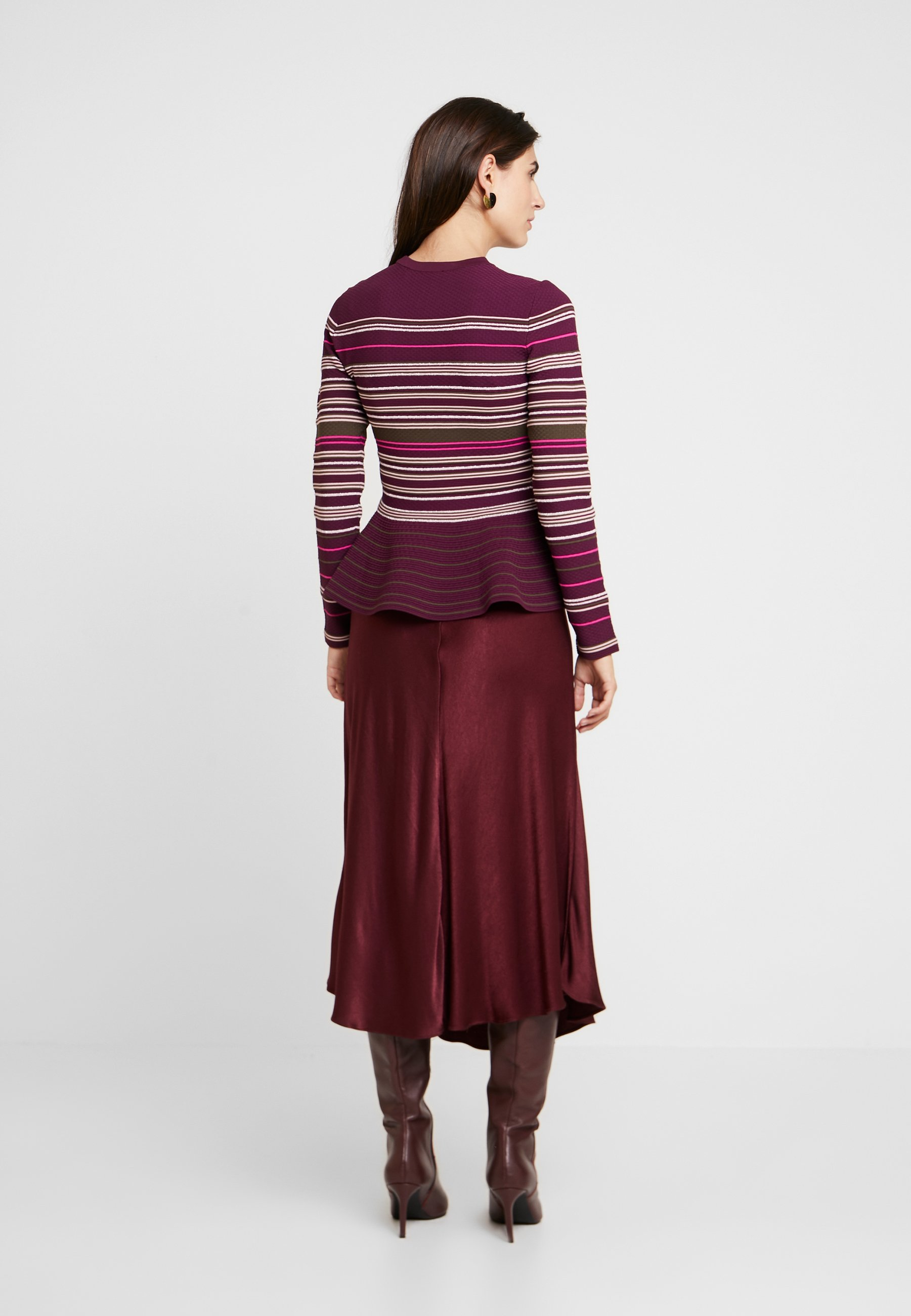 Ted Baker LEYTINA - Strikkegenser - dark purple