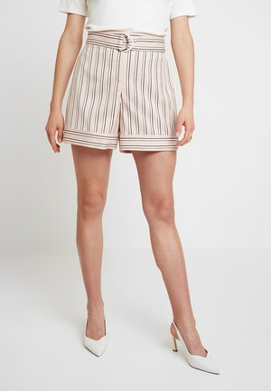 BETIIAS STRIPED TAILORED - Shorts - pink