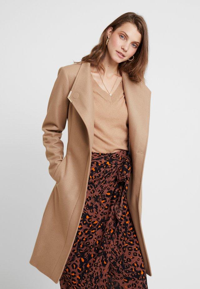 ELLGENC - Classic coat - camel