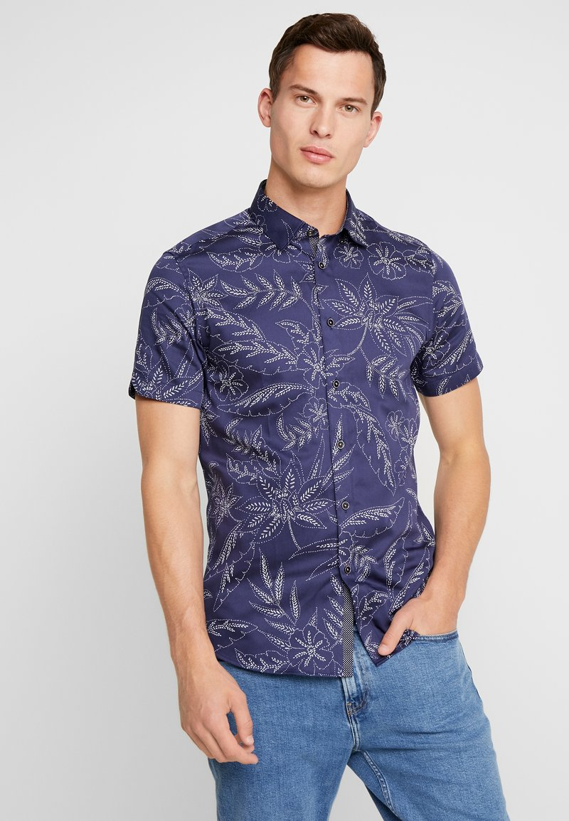 Ted Baker - DAMIEM - Shirt - navy
