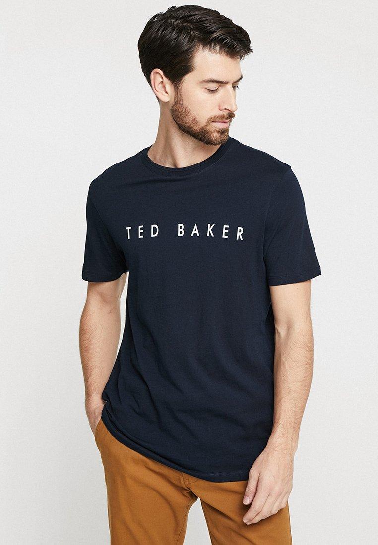 Ted Baker - LOGO - Print T-shirt - navy
