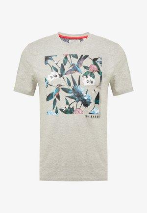 LITALL - T-shirt imprimé - grey marl
