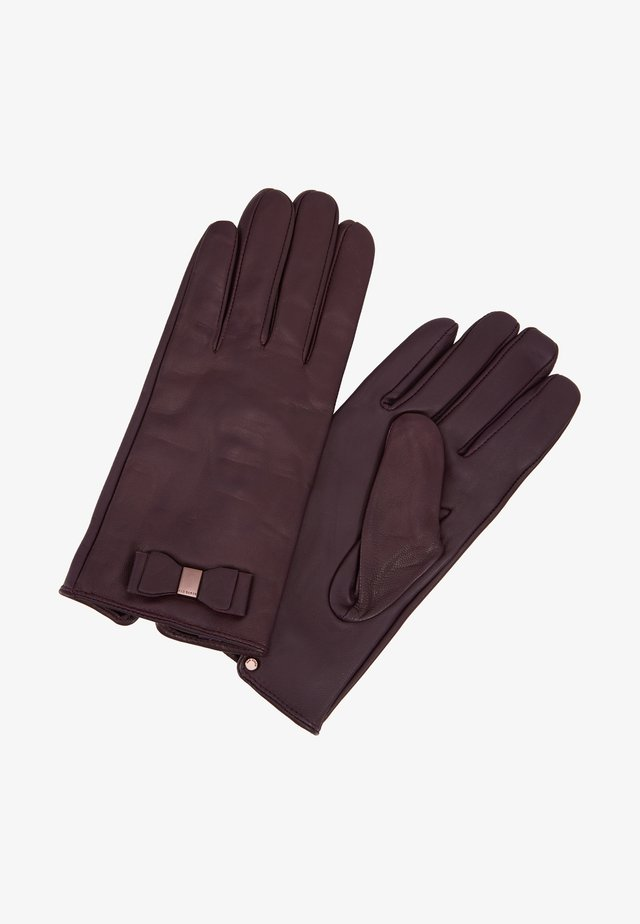 BLAKE - Handschoenen - oxblood