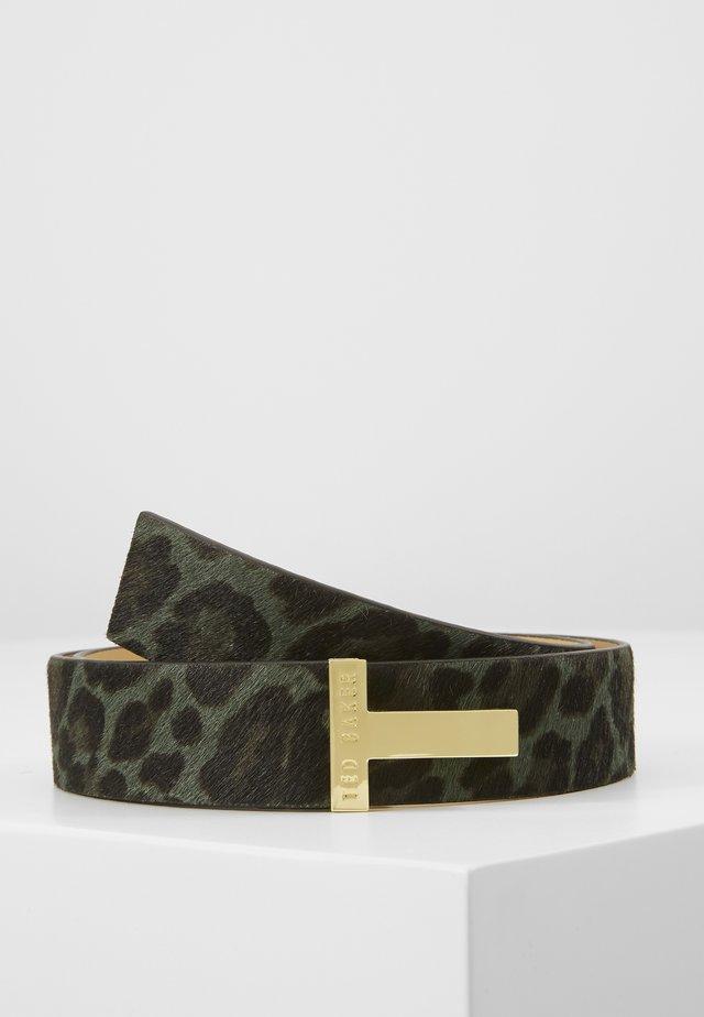 LUCCIEE - Belt - green