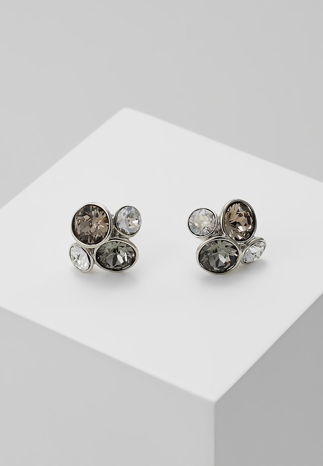 LYNDA JEWEL CLUSTER STUD EARRING - Earrings - silver-coloured
