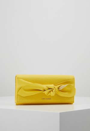 MARIGO KNOTTED FLAP MATINEE - Portefeuille - yellow