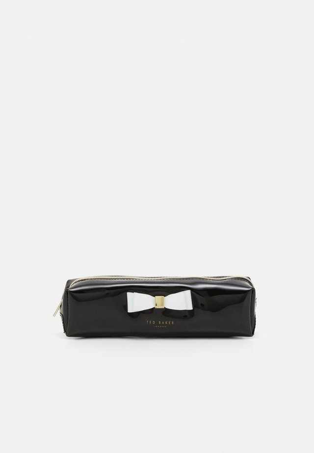 HOLLEEY BOW BRUSH CASE - Pennfodral - black