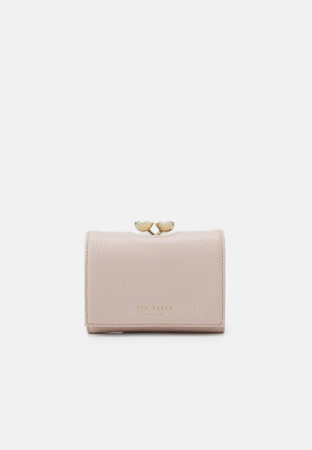 ALYESHA TEARDROP CRYSTAL MINI BOBBLE PURSE - Portfel - light pink