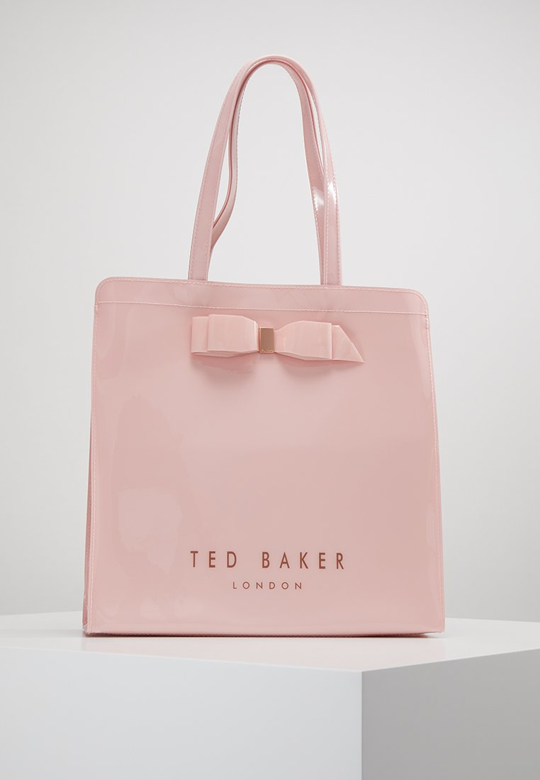 Ted Baker - ALMACON BOW DETAIL LARGE ICON BAG - Velká kabelka - lt pink
