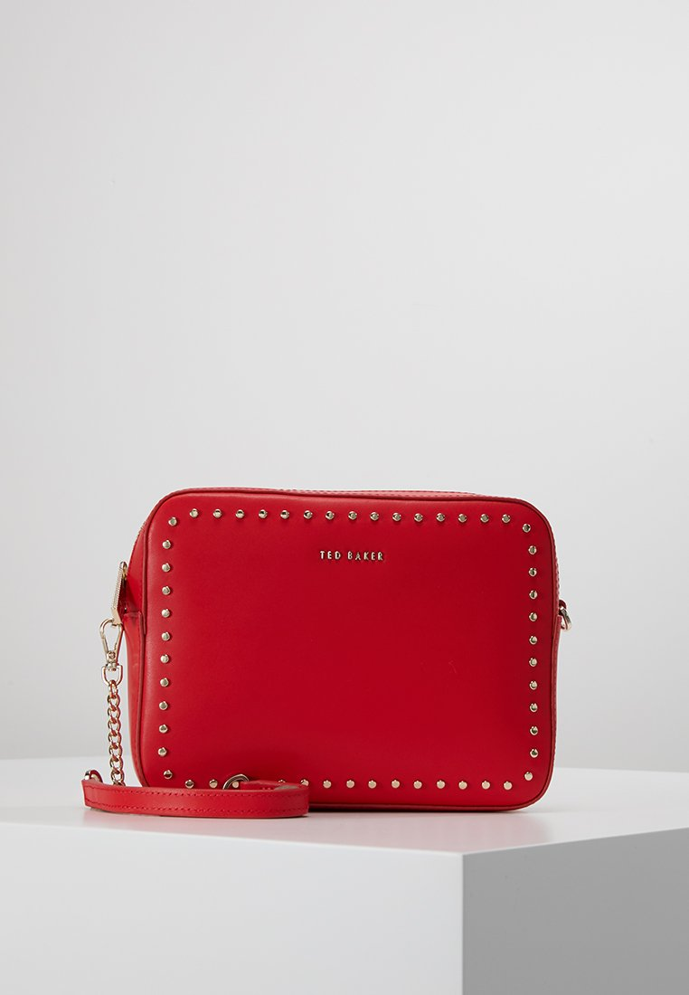 Ted Baker - SUZIE MICRO STUD CAMERA BAG - Across body bag - red