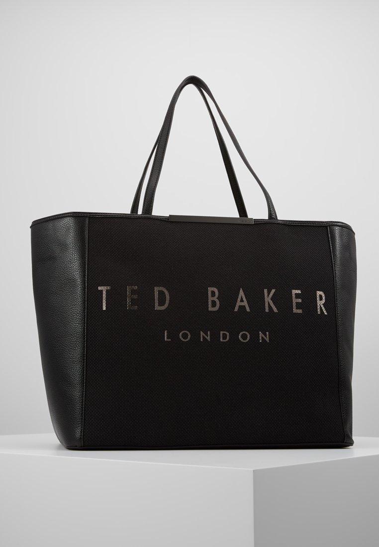 Ted Baker - JANIICE STATEMENT OVERSIZED SHOPPER - Tote bag - jet black