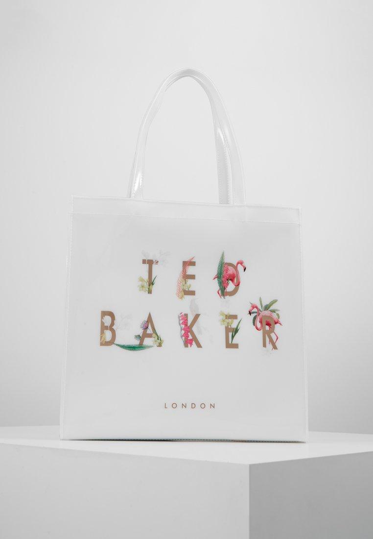 Ted Baker - KIRICON PISTACHIO TED LETTERS ICON - Bolso shopping - white