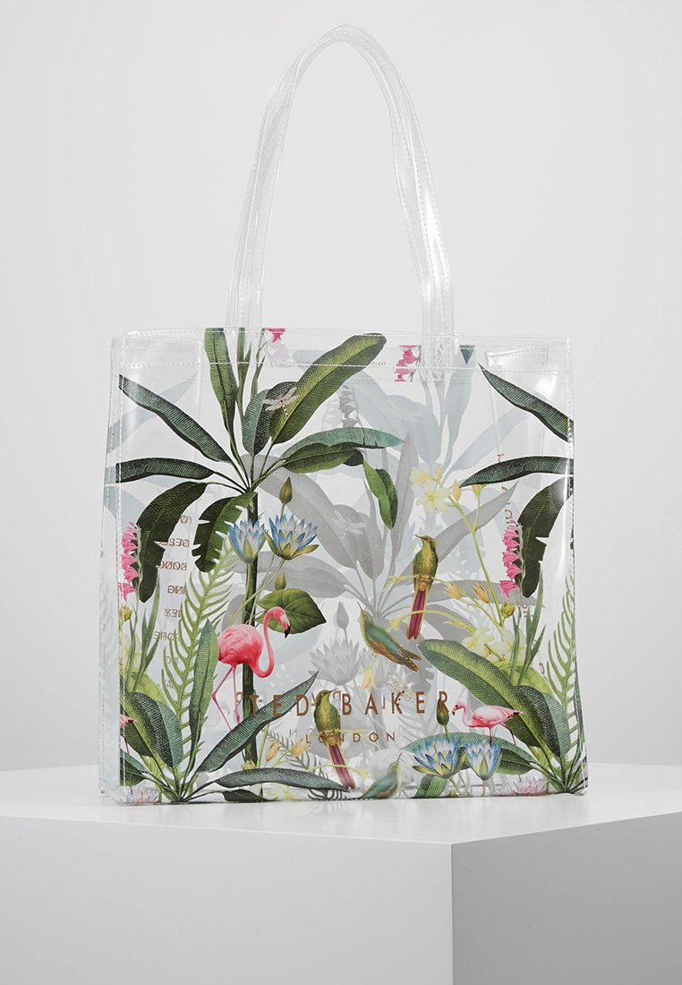 Ted Baker - OLEECON LARGE ICON - Tote bag - clear