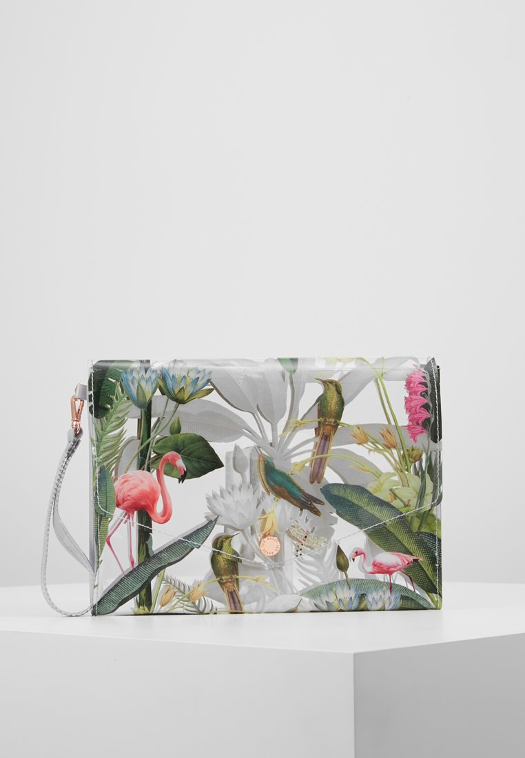 Ted Baker - ENED ENVELOPE POUCH - Clutches - clear