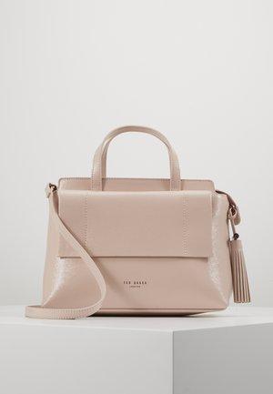 LONYN - Handtas - nude pink