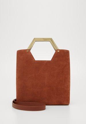 LAYAH - Handbag - tan