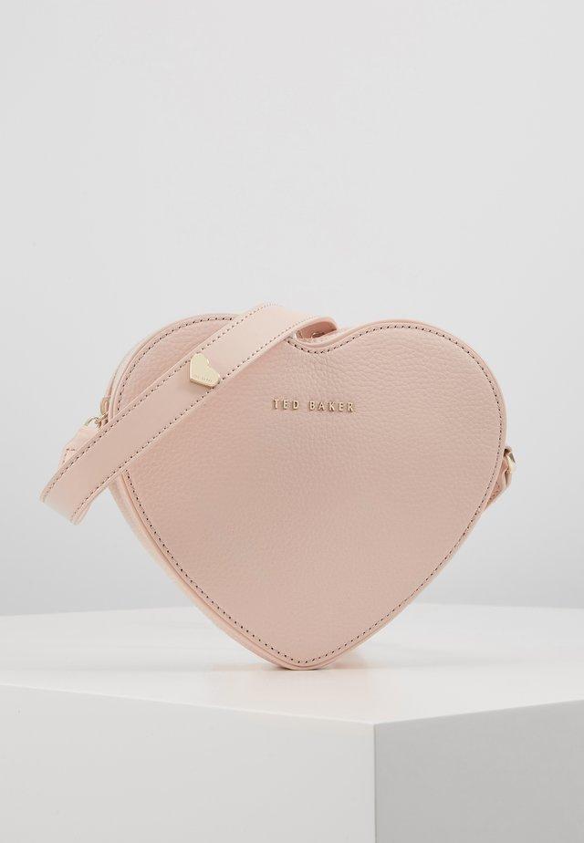LOVER - Bandolera - dusky pink