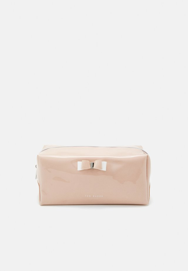 HAIYLEY BOW WASHBAG - Kosmetiktasker - dusky pink