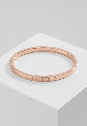 CLEMINA HINGE BANGLE - Halskette - rose gold-coloured