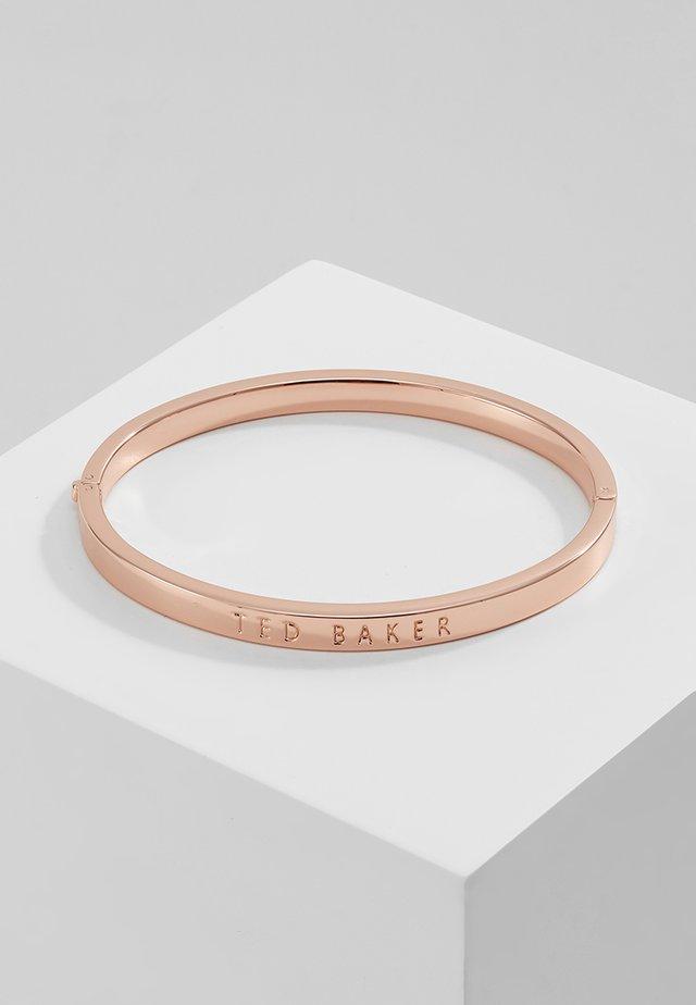 CLEMINA HINGE BANGLE - Necklace - rose gold-coloured