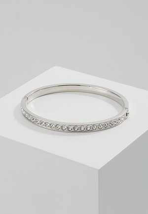 CLEMARA HINGE BANGLE - Armbånd - silver-coloured/crystal