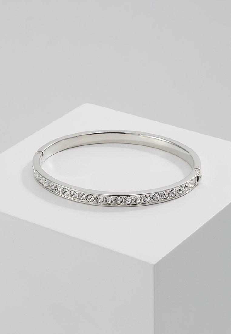 Ted Baker - CLEMARA HINGE BANGLE - Bracelet - silver-coloured/crystal