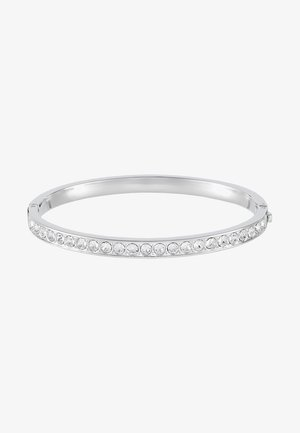 CLEMARA HINGE BANGLE - Armbånd - silver-coloured/crystal
