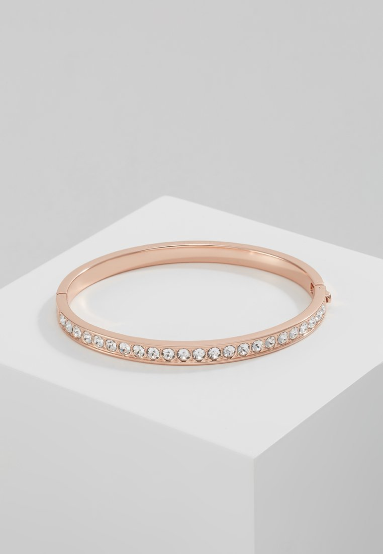Ted Baker - CLEMARA HINGE BANGLE - Bracelet - rose gold-coloured/crystal