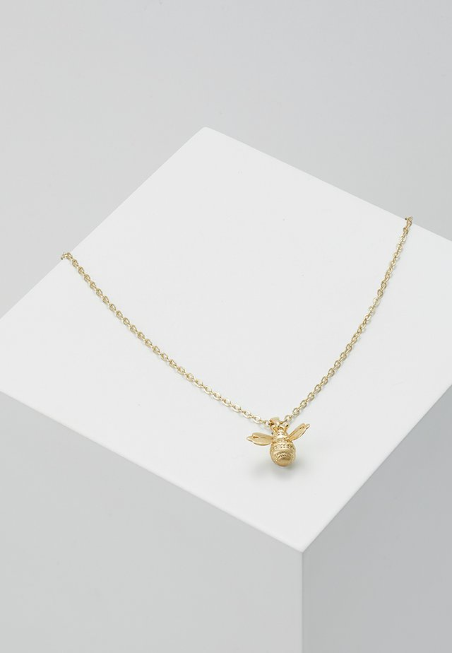 BELLEMA BUMBLE BEE PENDANT - Necklace - brushed pale/gold-coloured