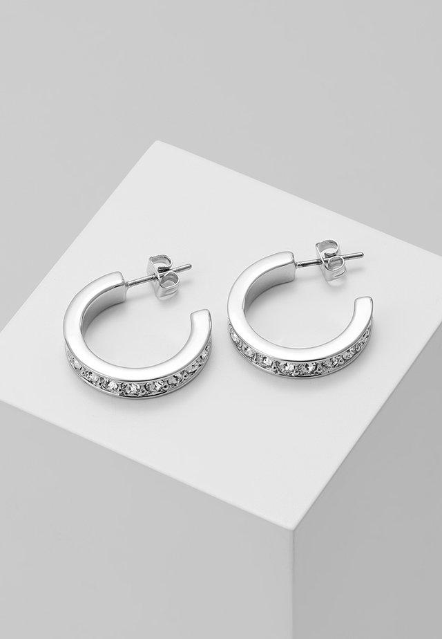 SEANNIA HOOP EARRING - Oorbellen - silver-coloured
