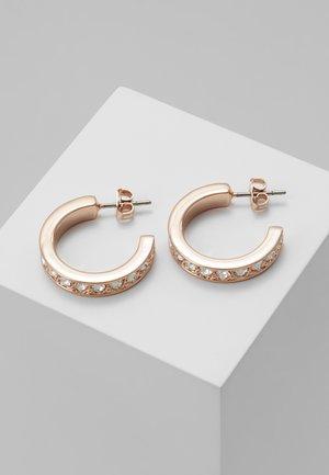 SEANNIA HOOP EARRING - Ohrringe - rose gold-coloured
