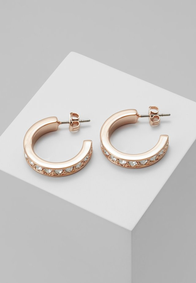 SEANNIA HOOP EARRING - Earrings - rose gold-coloured