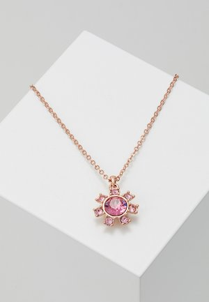 CESSALA DAISY CLOCKWORK PENDANT - Collier - rose gold-coloured/rose/light rose
