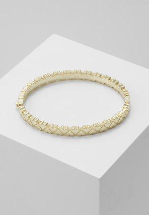 CLEMISA HINGE HEART BANGLE - Bracelet - pale gold-coloured