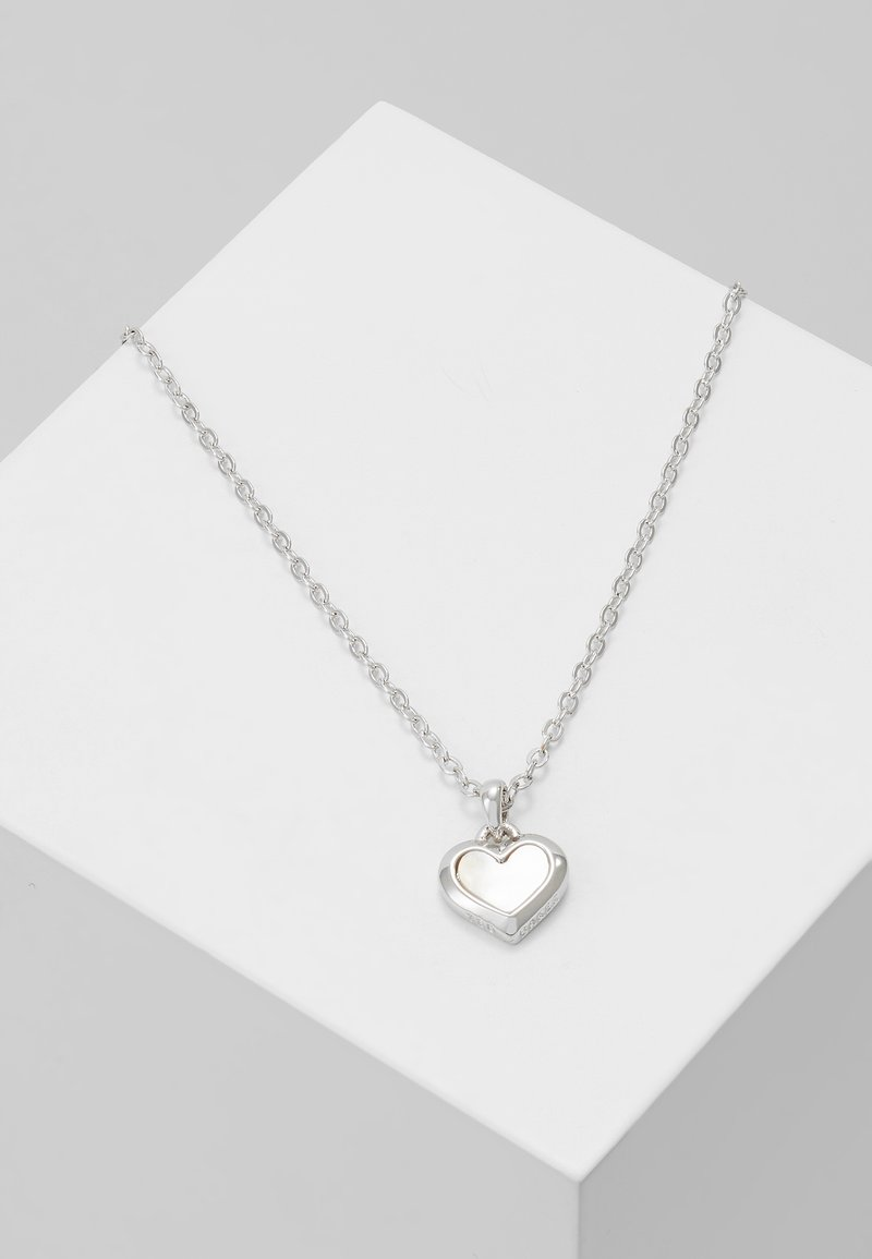 Ted Baker - HARRIOT HEART PENDANT - Collier - silver-coloured