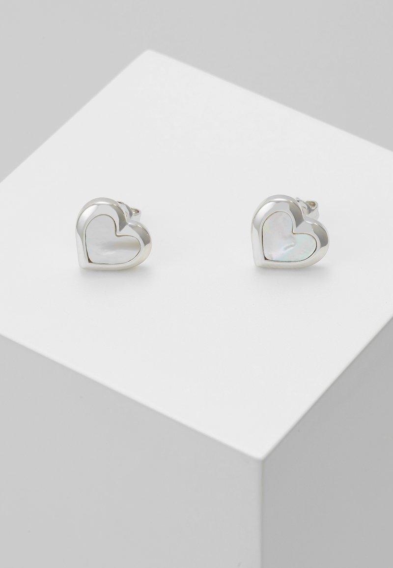 Ted Baker - HEILA HEART STUD EARRING - Orecchini - silver-coloured