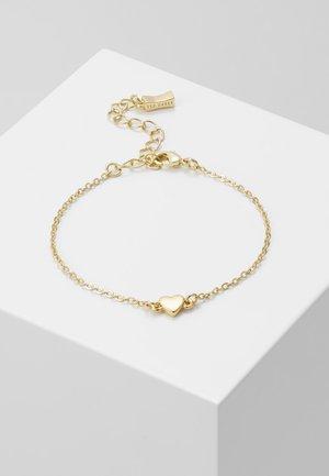 HARSA TINY HEART BRACELET - Armbånd - gold-coloured
