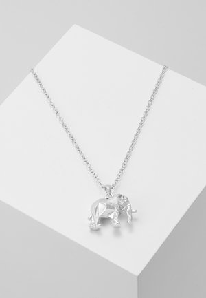 ELEPHANT PENDANT - Smykke - silver-coloured