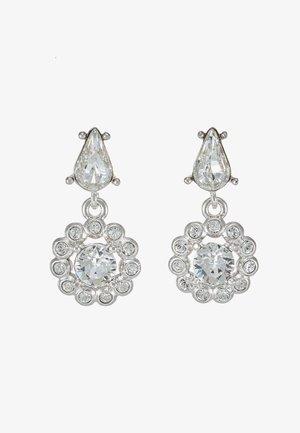 DAISY DROP EARRING - Earrings - silver-coloured