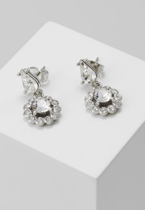 DAISY DROP EARRING - Earrings - silver-coloured